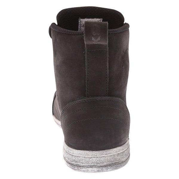 BKS Urban Black Waterproof Motorcycle Short Boots Heel