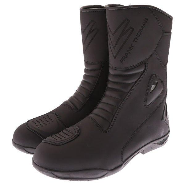 Microfibre Touring Boots Black