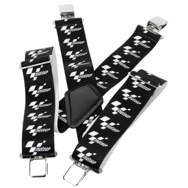 Rider Braces Black White Braces