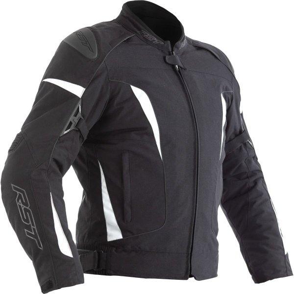 GT CE Ladies Textile Jacket Black White Ladies