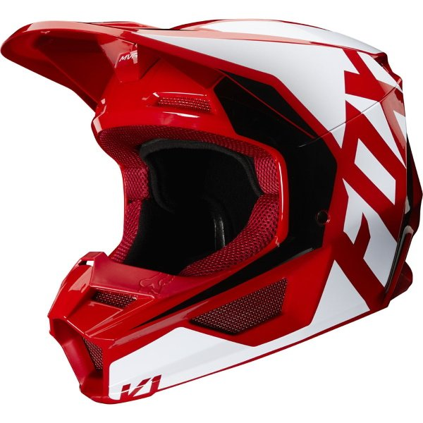 V1 Prix Helmet Flame Red