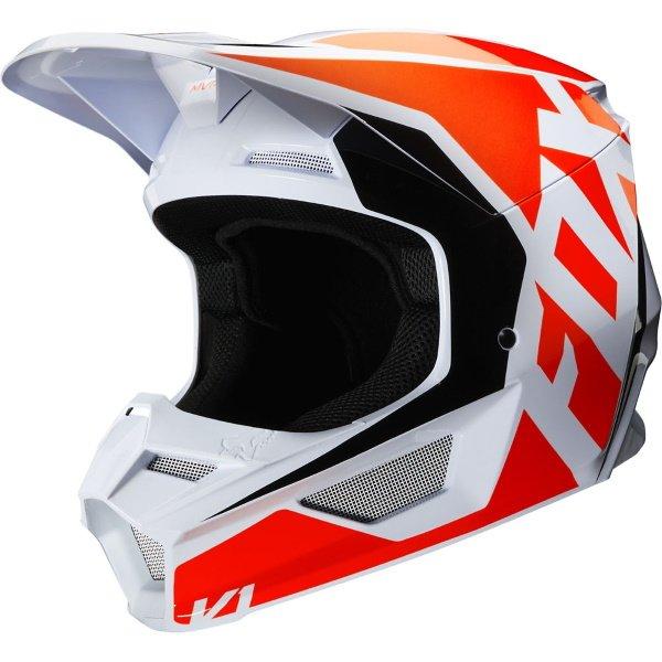 V1 Prix Helmet Flo Orange Fox Helmets