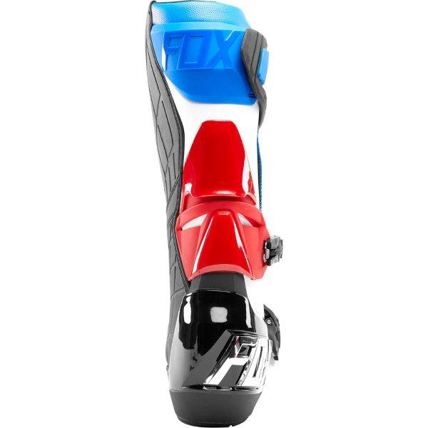 Fox Comp R Blue Red MX Boot Heel