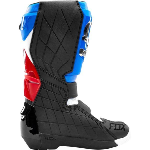 Fox Comp R Blue Red MX Boot Inside leg
