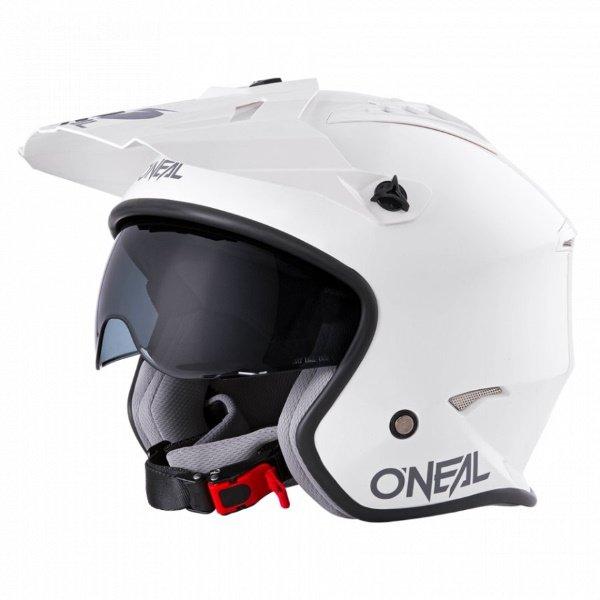 Volt Helmet White Open Face Motorcycle Helmets