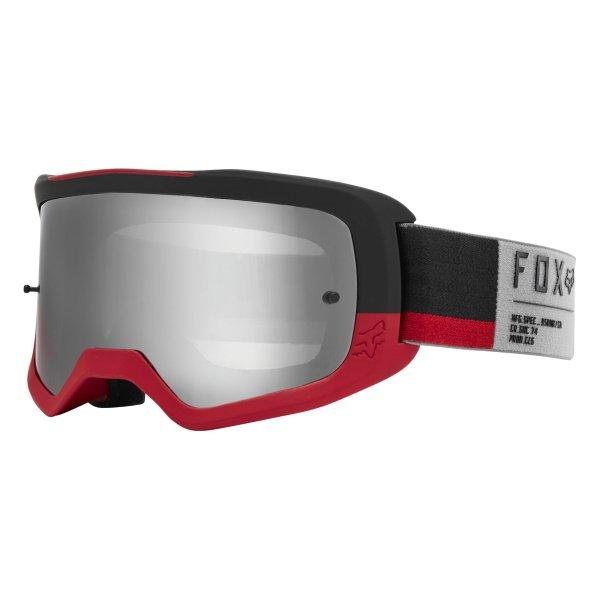 Fox Main II Gain Spark Grey MX Goggles Front Left
