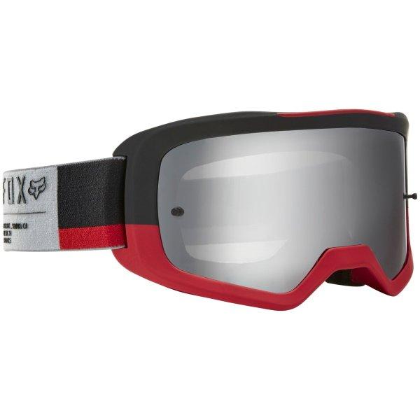 Fox Main II Gain Spark Grey MX Goggles Front Right