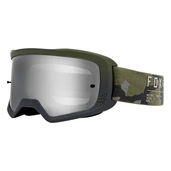 Fox Main II Gain Spark Camo MX Goggles Front Left