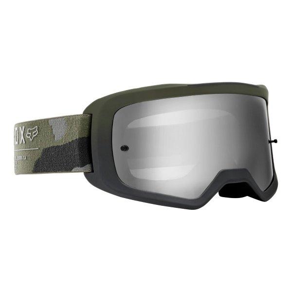 Fox Main II Gain Spark Camo MX Goggles Front Right
