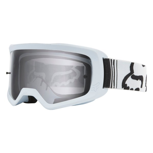 Fox Main II Race White MX Goggles Front Left
