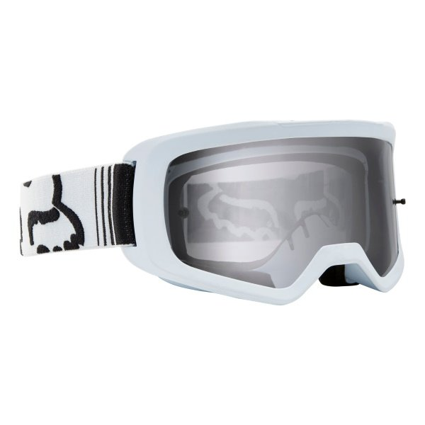 Fox Main II Race White MX Goggles Front Right