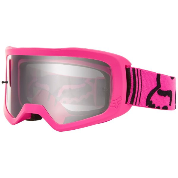 Fox Main II Race Pink MX Goggles Front Left