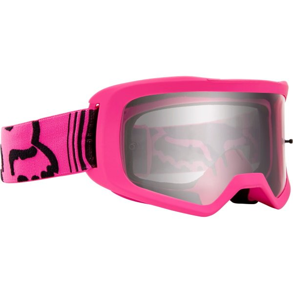 Fox Main II Race Pink MX Goggles Front Right