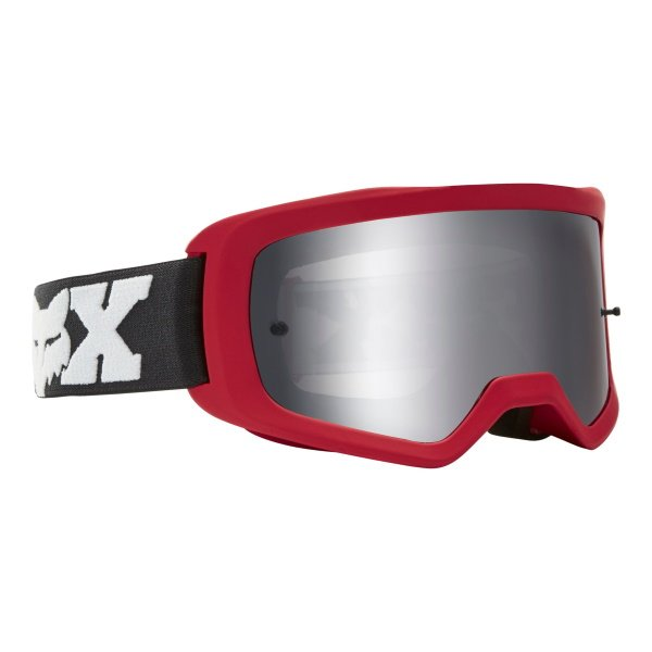 Fox Main II Linc Spark Flame Red MX Goggles Front Right