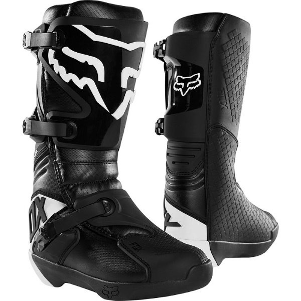 Comp 19 Boots Black Motocross Boots