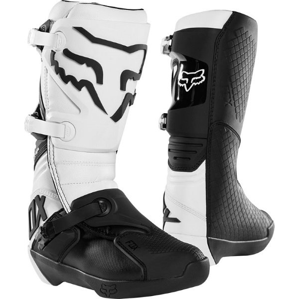 Comp 19 Boots White Motocross Boots