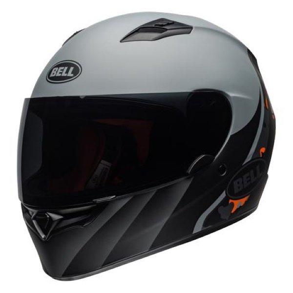 Bell Qualifier Integrity Helmet Matt Black Orange Camo Size: M
