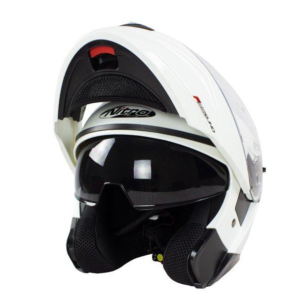 F350 Uno DVS Helmet White Motorcycle Helmets