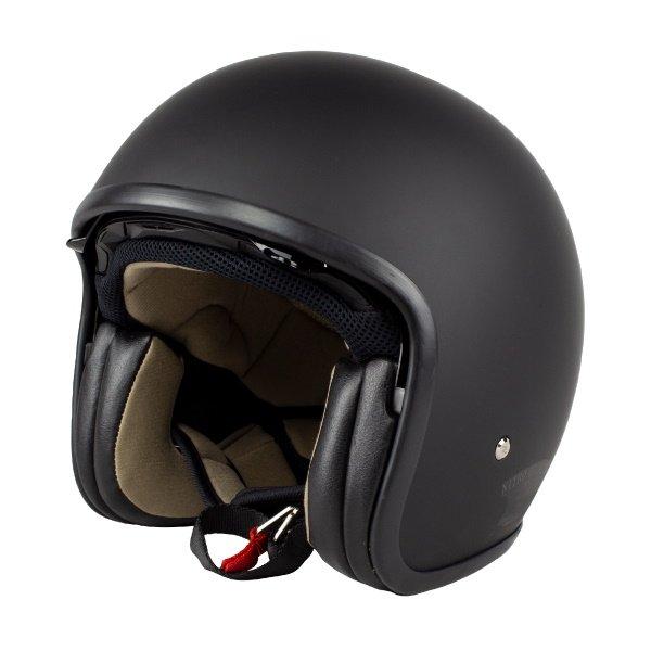 X580 Uno DVS Helmet Satin Black Motorcycle Helmets