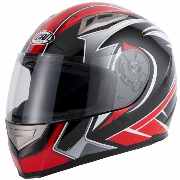 V158 Evo Helmet Red Vcan Helmets