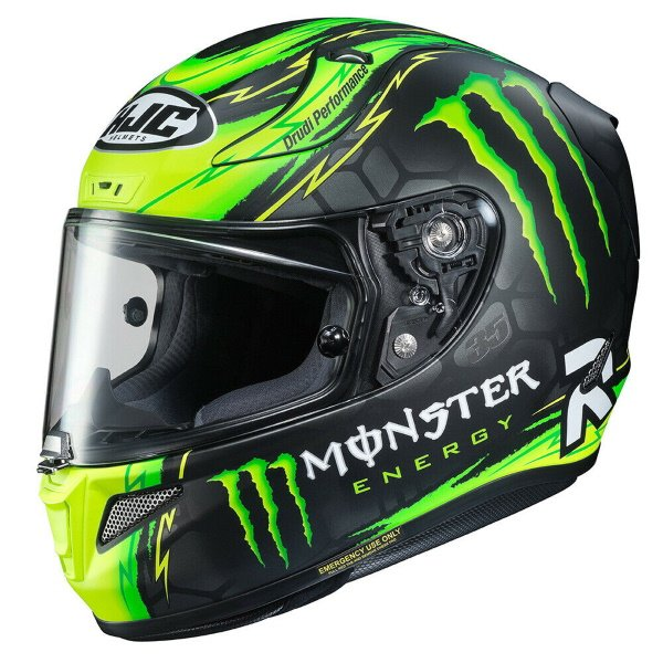 RPHA 11 Crutchlow Rep Helmet Fluo