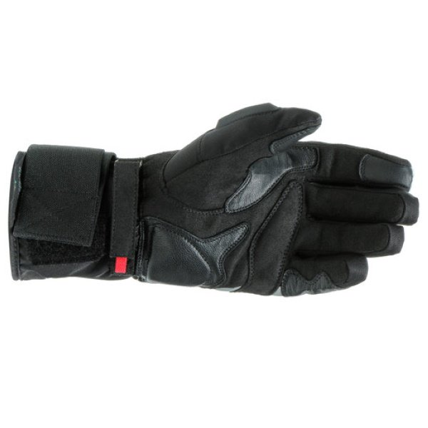 Dainese Aurora Lady D-Dry Ladies Black White Motorcycle Gloves Palm
