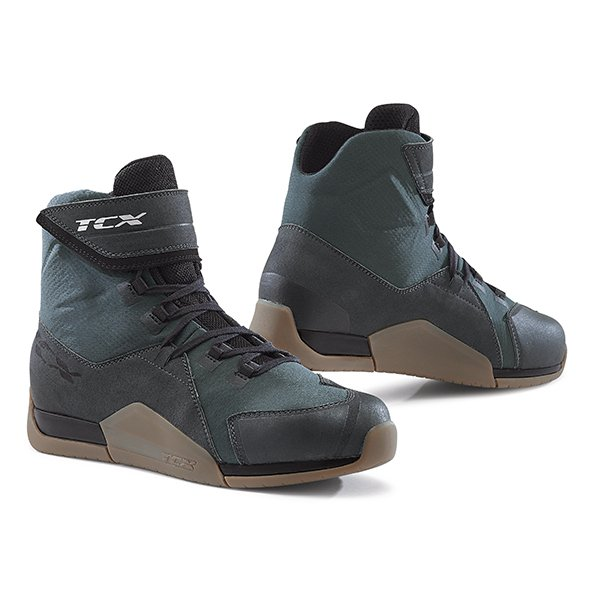 District WP Boots Gunmetal Brown Boots