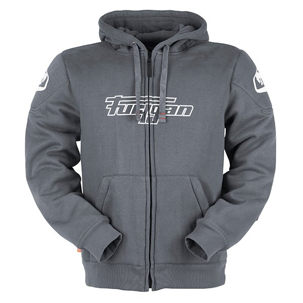 Luxio Hoodie Grey Casual Clothing