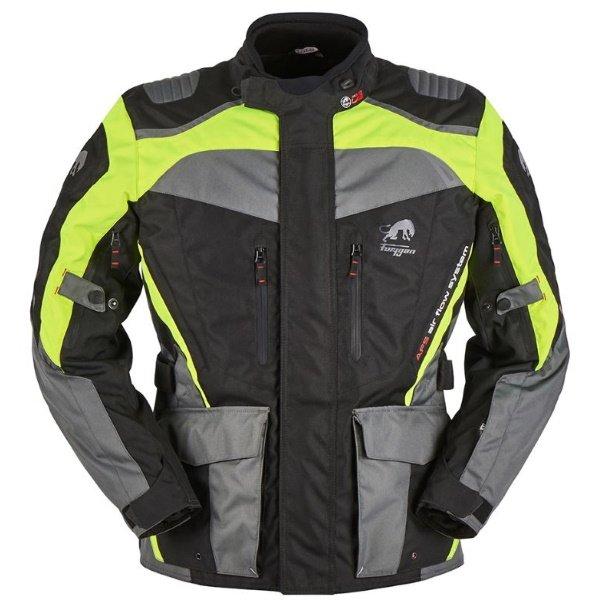 Apalaches Jacket Black Grey Yellow Clothing