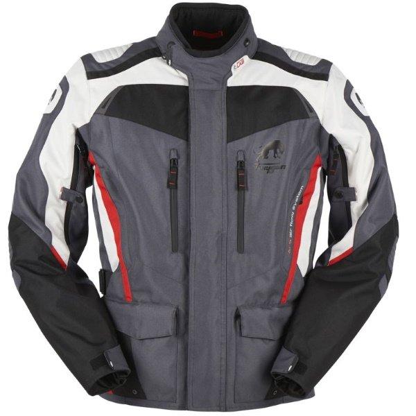 Apalaches Jacket Black Grey Red Clothing