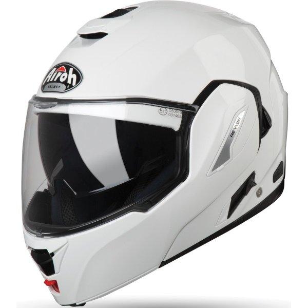 Airoh REV19 Flip White Flip Front Motorcycle Helmet Front Left