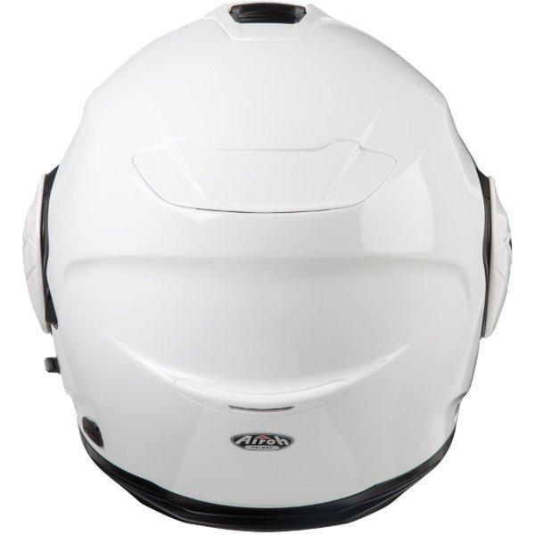 Airoh REV19 Flip White Flip Front Motorcycle Helmet Back