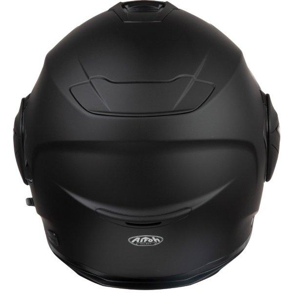 Airoh REV19 Flip Matt Black Flip Front Motorcycle Helmet Back