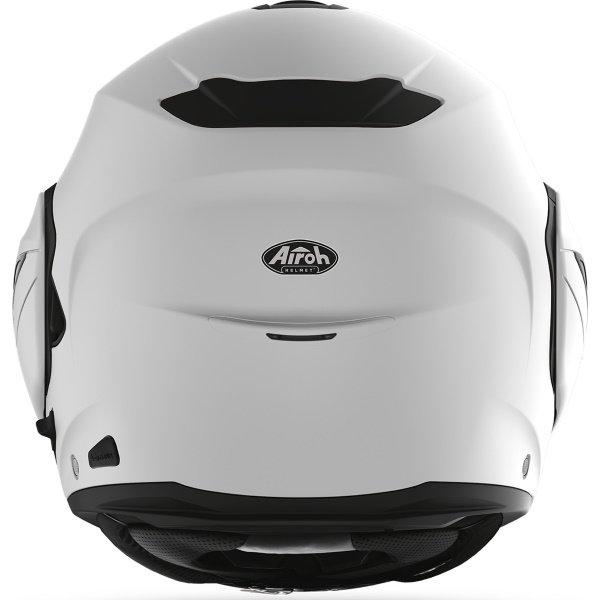 Airoh REV19 Flip Grey Matt Black Flip Front Motorcycle Helmet Back