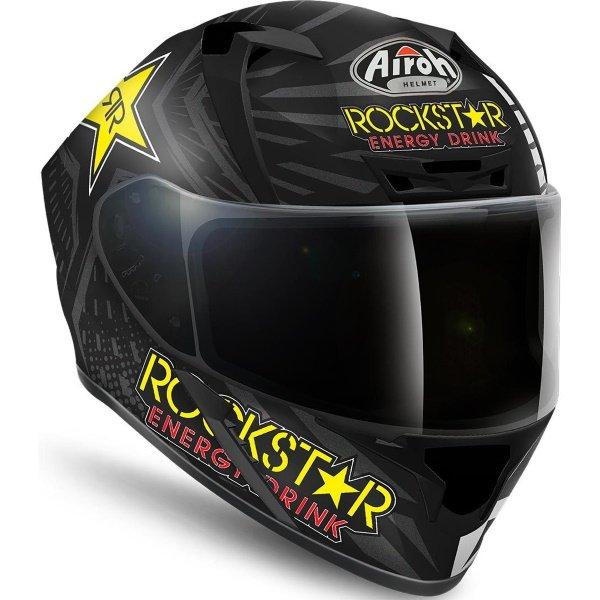 Airoh Valor Rockstar Full Face Motorcycle Helmet Front Right
