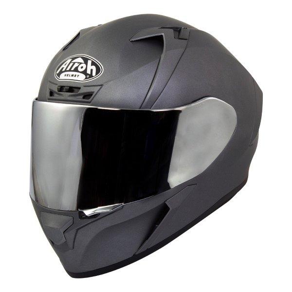 Valor Helmet Silver Matt Airoh Helmets