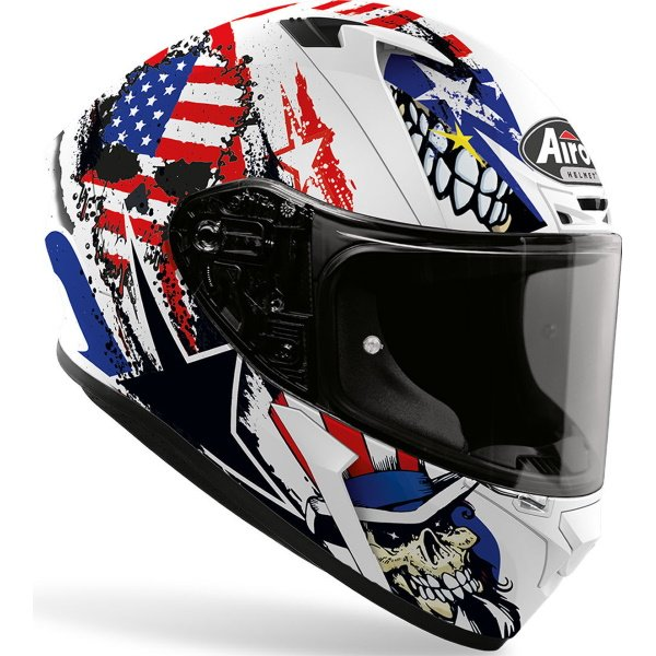 Airoh Valor Uncle Sam Full Face Motorcycle Helmet Front Right