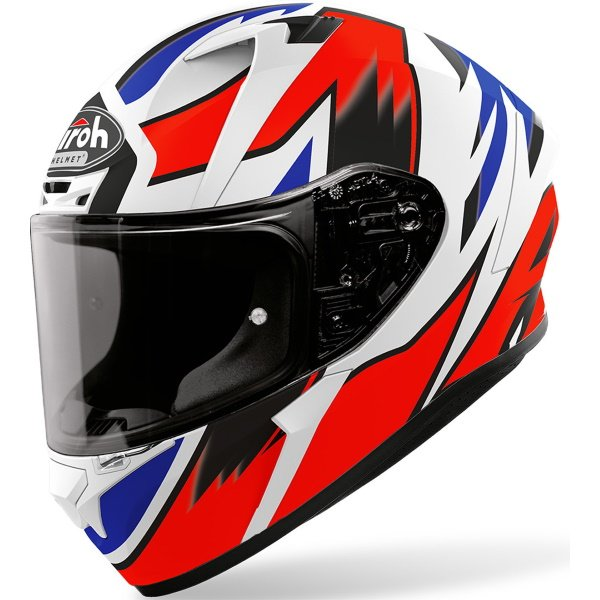 Airoh Valor Zanetti Replica Full Face Motorcycle Helmet Front Left
