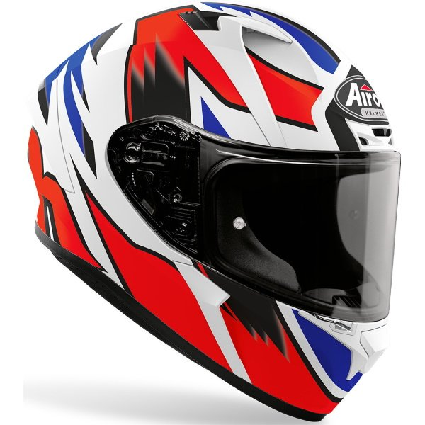 Airoh Valor Zanetti Replica Full Face Motorcycle Helmet Front Right