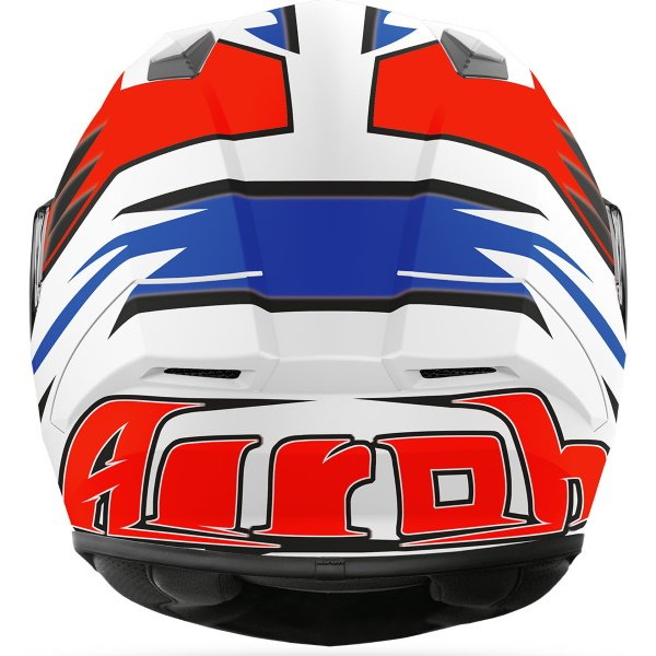 Airoh Valor Zanetti Replica Full Face Motorcycle Helmet Back