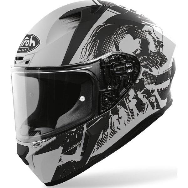 Valor Helmet Akuna Black Matt Airoh Helmets