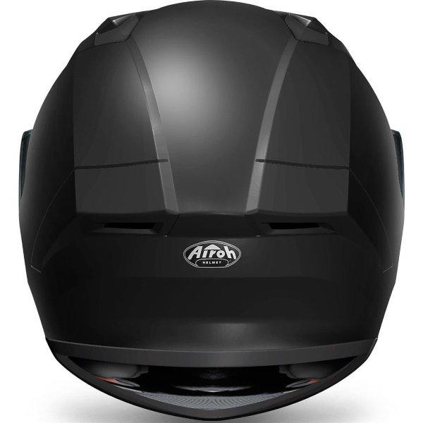 Airoh Valor Matt Black Full Face Motorcycle Helmet Back
