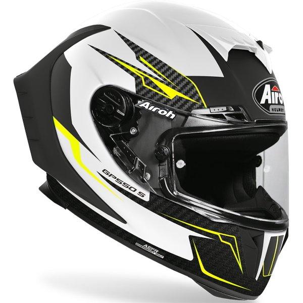 Airoh GP550S Venom Helmet White Size: XS
