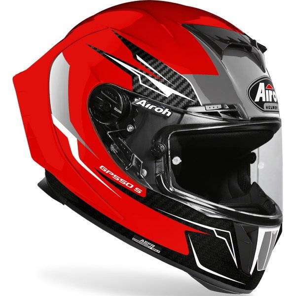Airoh GP550S Venom Helmet Red Size: XS