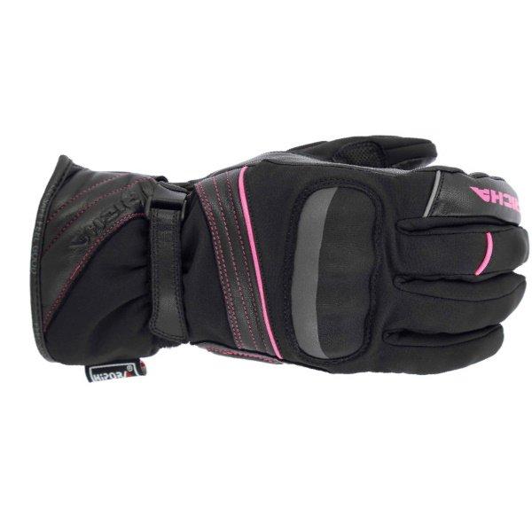 Ella WP Gloves Black Pink Richa Ladies