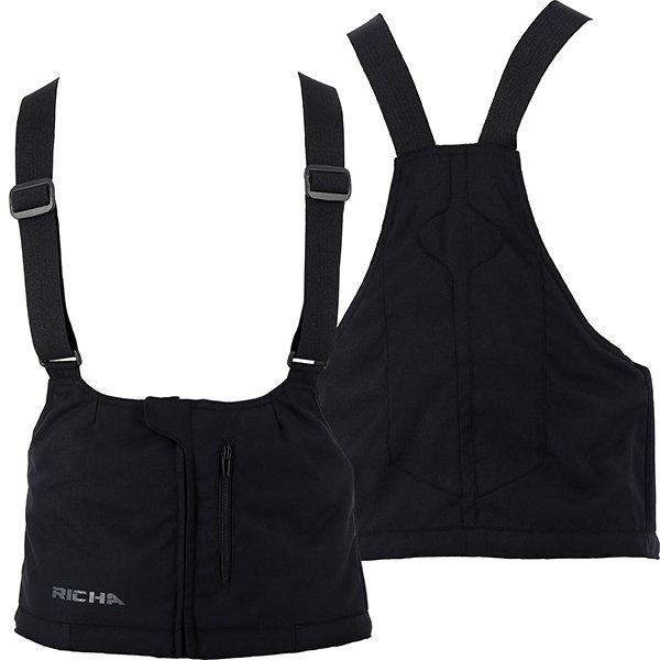 Bib for Cyclone GTX Trousers Black Clothing