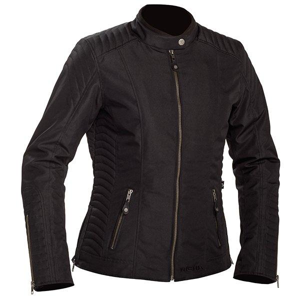 Lausanne Tex Jacket Black Richa Ladies
