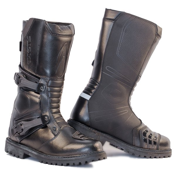Adventure WP Boots Black Touring Boots