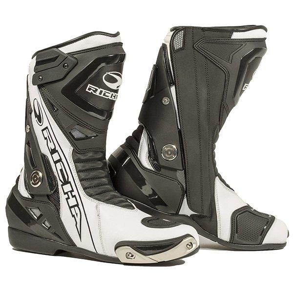 Blade WP Boots Black White Richa Boots