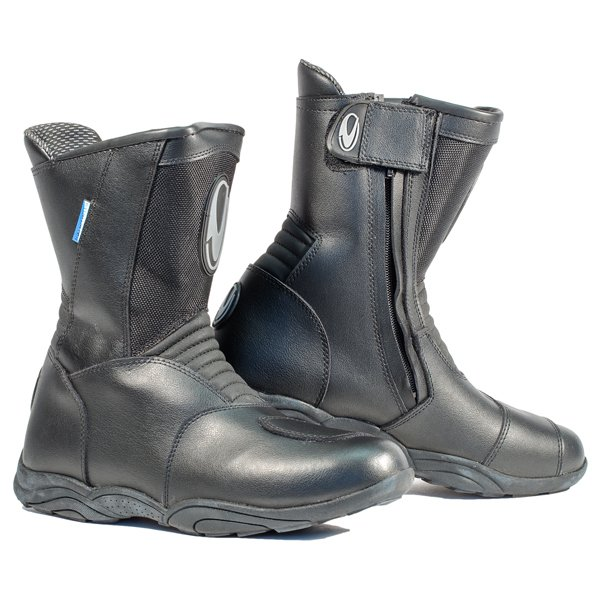 Monza Boots Black Touring Boots